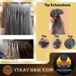 Straight Hair Tip Extension