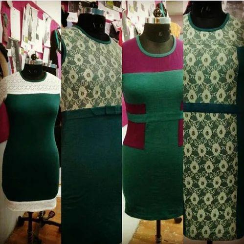 Jersey Lace Dress