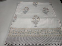 Block Printed Cotton Dohar Blanket