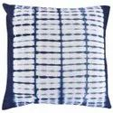 Natural Dyed Shibori Printed Cushion Cover Indian Hand Dyed Cotton Tie Dye Pillow Cover