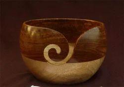 Mango - Sheesham 2 Tone Wood Yarn Bowl