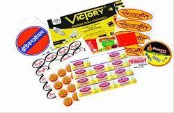 Multicolor PVC Sticker