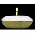 Gold Designer Table Top Wash Basin