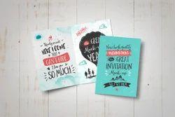 Tri-Fold Insert Birthday Invitation Card