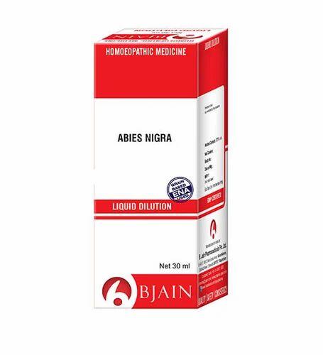 Liquid Dilution Abies Nigra Ammonium Aceticum Pharma Drug
