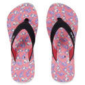 Women Mystery Walk Candy Pink-red Slippers, Size: 5-9