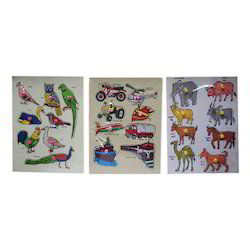Characters Wooden Puzzle