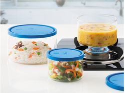 Multicolor Set Of 3 Gourmet Cook & Store