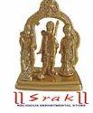 Rama Sita Lakshman and Hanuman Brass Statue