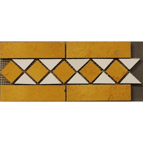 Unique Mosaic Border Tile At Rs 300 /Running Feet | Kotla