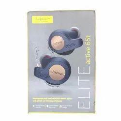 Black Wireless Earbuds Earphones JABRA