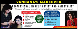 Makeup & Hair Styling Services & Academy