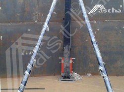Hydraulic Tank Lift Jacks And Tank Jacking System