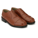 Men Brown Leather Formal Shoes, Size: 6-10