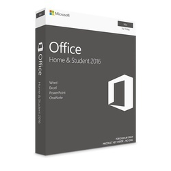 Microsoft Windows Office Home and Student 2016 for Macintosh