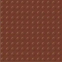 Brown Cement Chequered Tiles, Size: 12x12 Inch