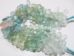 Multi Aquamarine Beads