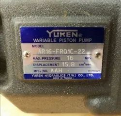 Yuken Variable Piston Pumps, For Industrial, Model Name/Number: AR16-FR-01-C-22