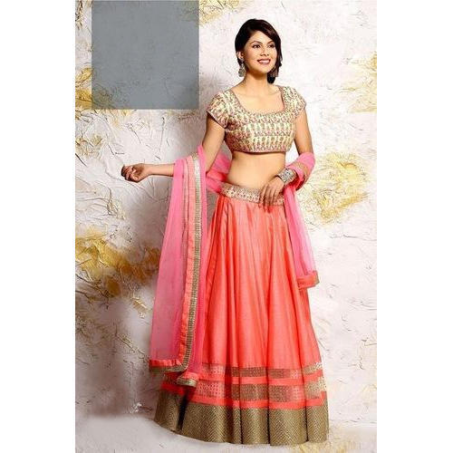 114dae1d0c Semi-Stitched Embroidered Fancy Party Wear Lehenga Choli, Rs 999 ...