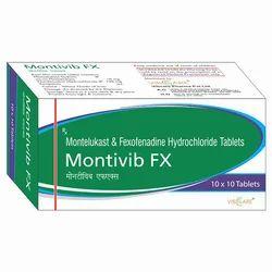 Montelukast Sodium 10mg Fexofenadine 120mg