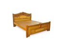 Wooden Cot Jalli Model(Teak Wood)
