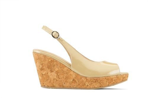 8011111bb Ivory And Beige Vanilla Moon Women Marie Wedges, Rs 2490 /pair   ID ...