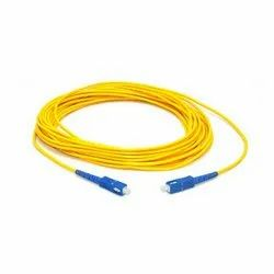 FIBER OPTIC PATCH CORD SINGLEMODE SIMPLEX