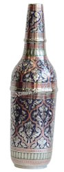 Home Decor Brass Wine Bottle