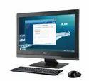 Black Acer Veriton Z4660g With 8th Intel Desktop Computer