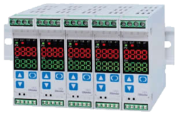 DIN Rail Mounted Indicating Controllers
