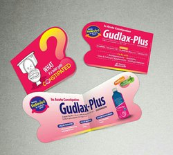 Die Cut Pharma Products Card
