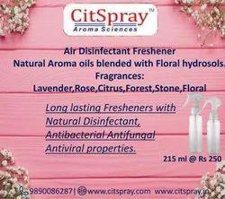 Disinfectant air freshener