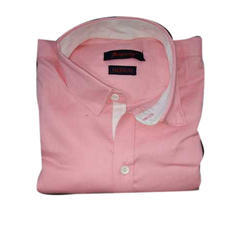 Pink Prosperity Mens Casual Shirt