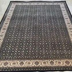 Pihue Creation Rectangular Designer Handmade Carpet, For Floor, Size: 9x12 Feet