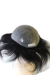 Pu Ultra Thin Real Skin Human Wig / patch