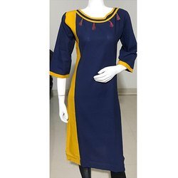 3/4th Sleeve Casual Wear Kurti