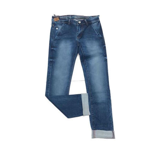 Mens Slim Fit Ripped Stretchable Jeans
