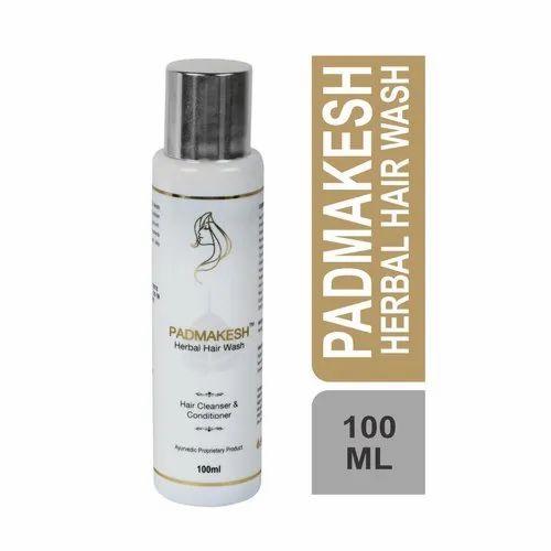 Bio Resurge Padmakesh Herbal Hair Wash Shampoo, Packaging Type: Bottle