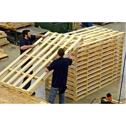 Rectangular Hardwood Pallet