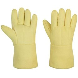 Heat Resistant Fabric Knitted Gloves