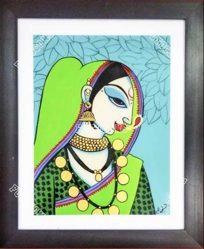 Download Modern Indian Woman Cartoon Gif