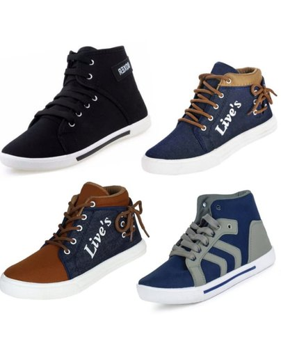 968448756344 Casual Blasco Men High Neck Shoes, Size: 6-10, Rs 210 /pair   ID ...