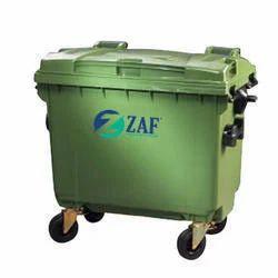 660 Liter 4 Wheeled Garbage Bin