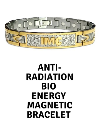 57c1adb38168f Bio Energy Magnetic Bracelet, Anti Radiation (shipment All Over India) 3  Days Delivery