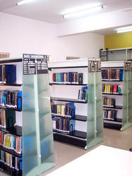 Modern Library Shelves