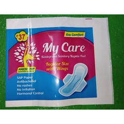Plastic Printed Sanitary Napkin Packet, for Personal