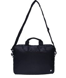 Zwart Black Laptop Bag Carry Case