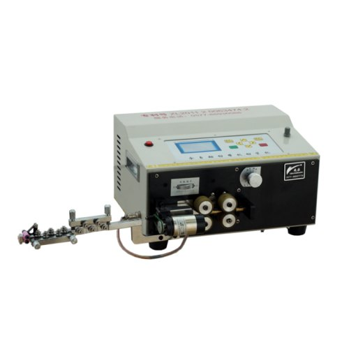 Automatic Enamel Wire Cutting & Enamel Removing Machine