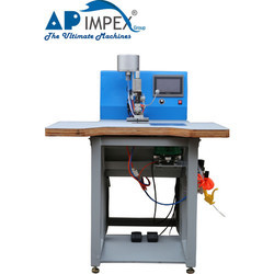 Mild Steel Pearl Attaching Machine