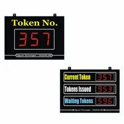 Token Display System ( For Individual Doctor / Hospitals / Canteens)